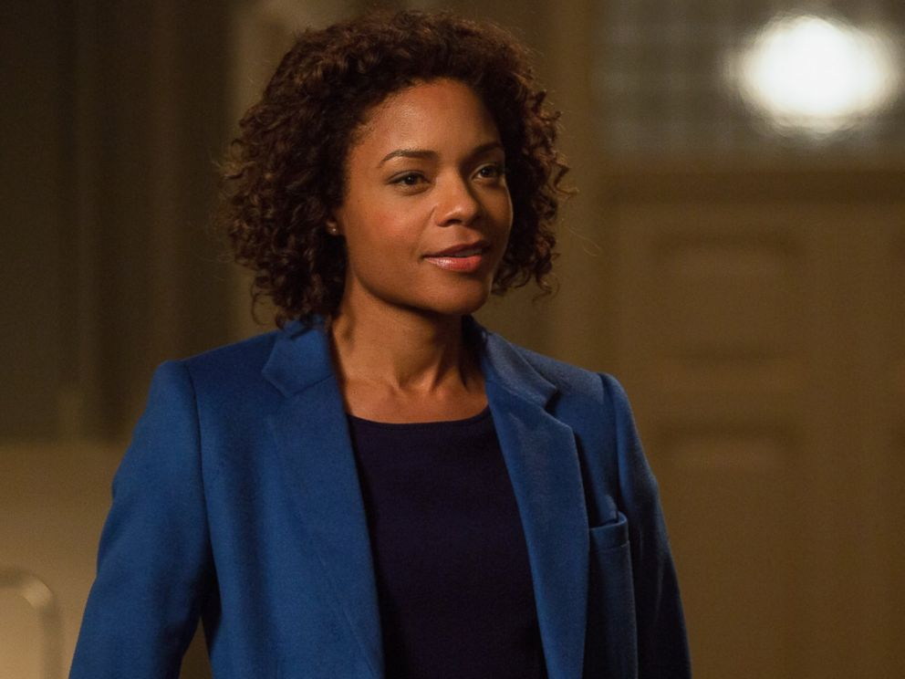 PHOTO: Naomie Harris in the forthcoming James Bond film, Spectre.